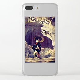 Out of the Cave, Into the Storm, the Hero Prepares for the Next Battle Clear iPhone Case