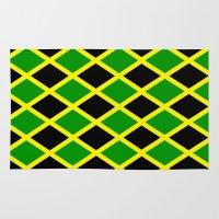 jamaica Area & Throw Rugs featuring Jamaica Jamaica Jamaica by cleopetradesign.com
