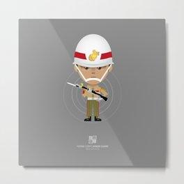 Honor Guard - ZQ Drill Metal Print