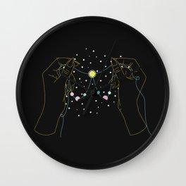 Honestly - Illustration Wall Clock