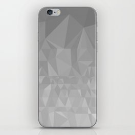 Black and Grey Ombre iPhone Skin