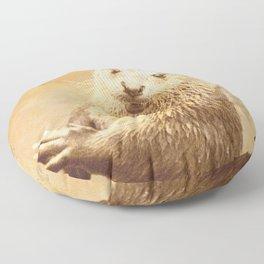 Vintage Animals - Otter Floor Pillow