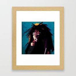 vinyl remix: jody watley Framed Art Print
