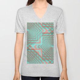 21 E=Codes4 Unisex V-Neck