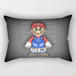 It's ME, Evil Mario !  Rectangular Pillow