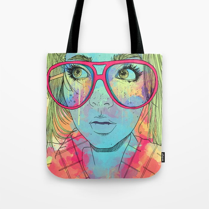 Kaleidoscope Vision Tote Bag