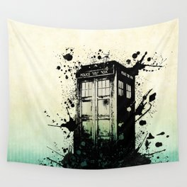 TARDIS Doctor Who Wall Tapestry