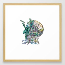 Undead Time Framed Art Print