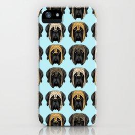 Mastiff Trio iPhone Case