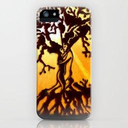 Tree of life sunshine Lovers iPhone Case