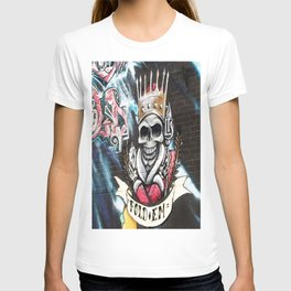 Las Vegas Skull Graffiti T-shirt