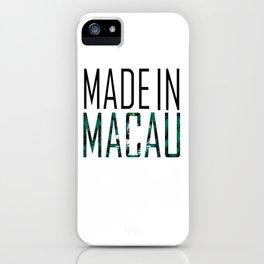 Macau iPhone Case