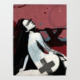 Moss Goddess Poster