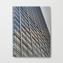 Skyscraper Abstract Metal Print