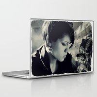tegan and sara Laptop & iPad Skins featuring Tegan Quin by Virginie Le Guen-Bertheaume