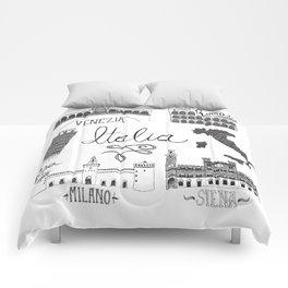 Italian Landmarks Comforters