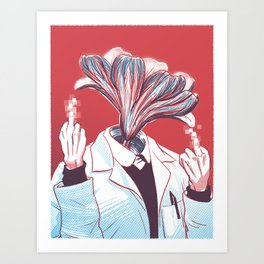 BiYOLOgist Art Print