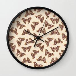 Atlas moth Wall Clock