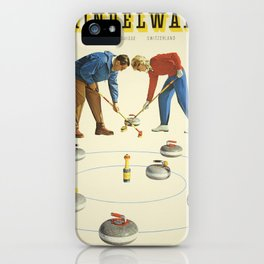 Vintage poster - Grindelwald iPhone Case