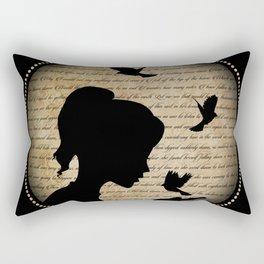 L'oiseau qui chante Rectangular Pillow