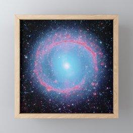 Lying in a zero circle ii Framed Mini Art Print