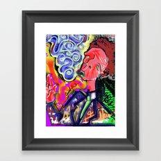 Mr. Pink Framed Art Print