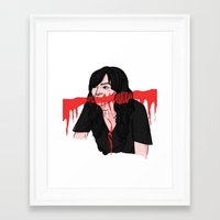carmilla Framed Art Prints featuring carmilla karnstein by Ana Rocha
