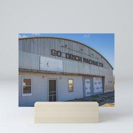 Main Street, Goodrich, North Dakota 4 Mini Art Print