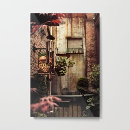 Hidden Alley Metal Print