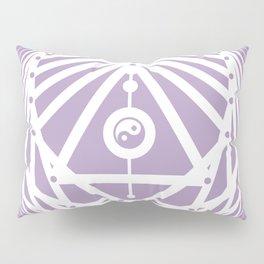 Radiant Abundance (lavender-white) Pillow Sham