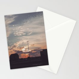 Carrefour Laval at Dusk Stationery Cards