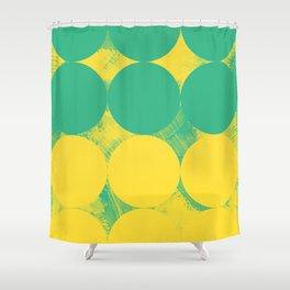 Modern Geometric 78A Shower Curtain
