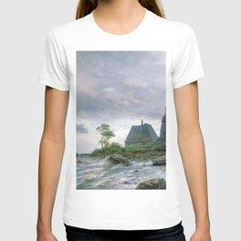 Northern Landscape 1872 By Lev Lagorio | Reproduction | Russian Romanticism Painter T-shirt