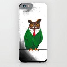 Owl in suit iPhone 6s Slim Case
