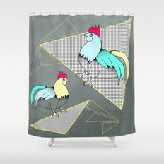 Coq français - French rooster Shower Curtain