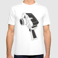 Gadget Envy MEDIUM White Mens Fitted Tee