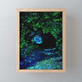 Enchanted Forest Path Framed Mini Art Print