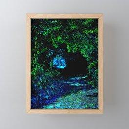 Enchanted Forest Path Framed Mini Art Print