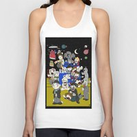 dr who Tank Tops featuring Dr Who Kiddies by chrismcquinlan