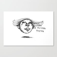 Flying Thing Canvas Print