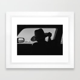 West Texas Explorer Framed Art Print
