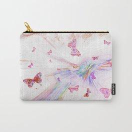 """""""Flash Dream ~ Butterflies"""" Carry-All Pouch"""