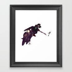 Escapar Framed Art Print