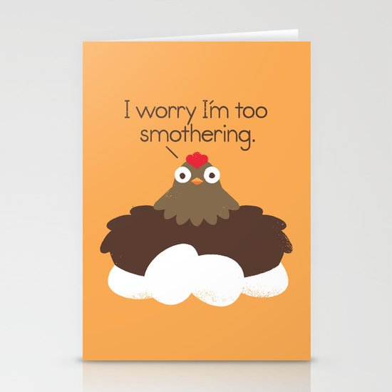 Apprehensive Stationery Cards