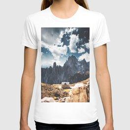 tre cime di lavaredo T-shirt