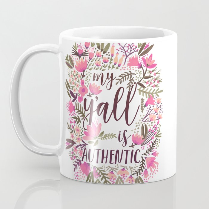 My Y'all is Authentic – Vintage Palette Coffee Mug