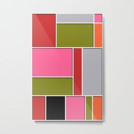 Abstract #49 Metal Print