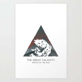 The Great Calamity Art Print