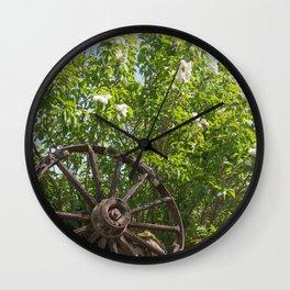 High Mileage Wall Clock