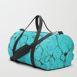 turquoise Duffle Bag